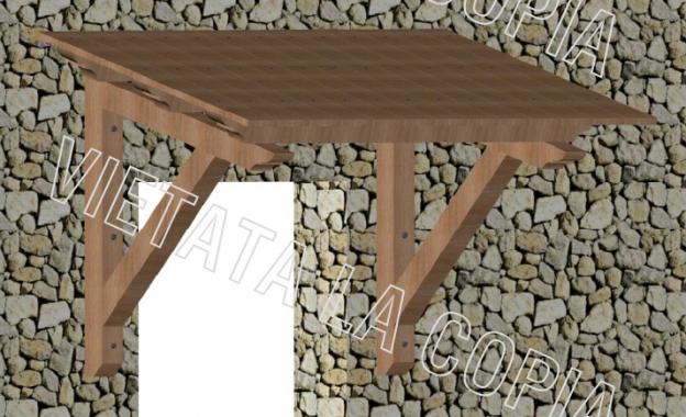 Come costruire una pensilina in legno: in 3 semplici step - SicaShop ...